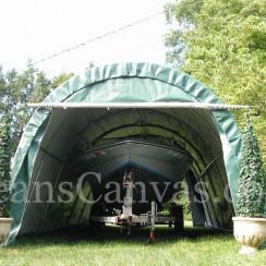 12'W x 24'L  Round Style Extended Storage