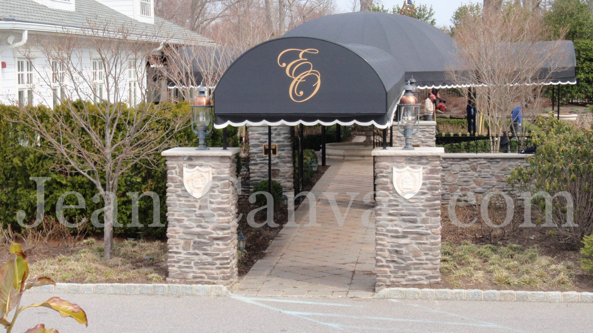 canvas custom awning 300