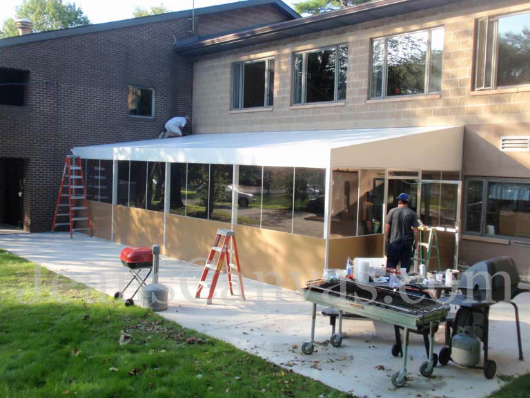 canvas custom awning 400