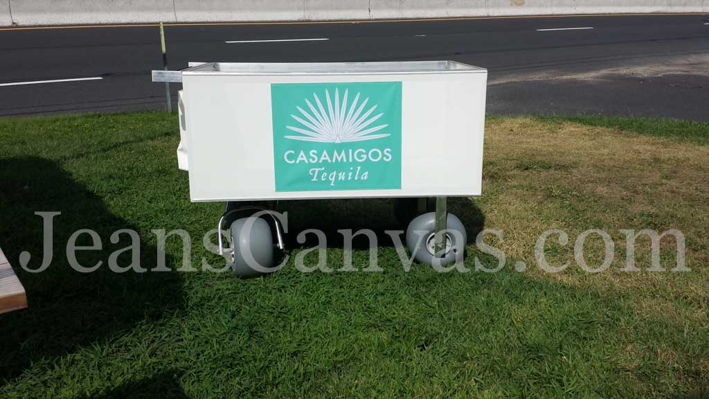 custom beach cart 11