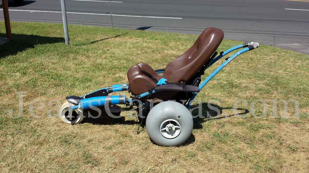 custom beach wheelchair