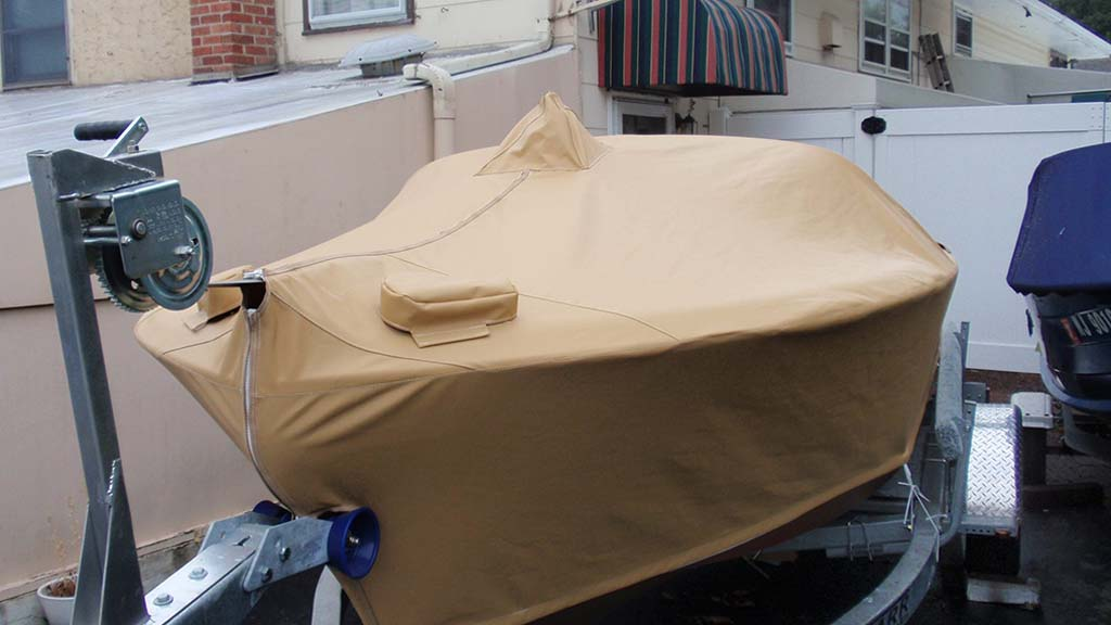 Custom Canvas Boat Cover