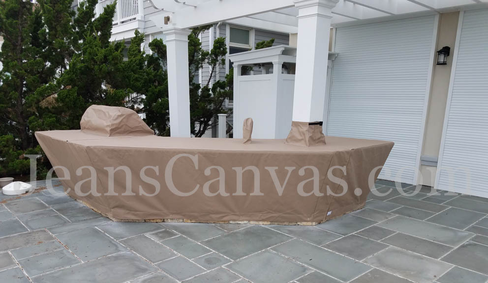 5 custom outdoor kitchen covers