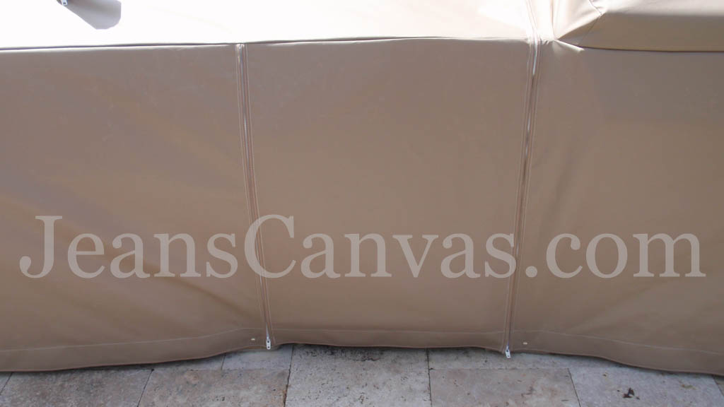 903 OUTDOOR KITCHEN CANVAS ENCLOSURE