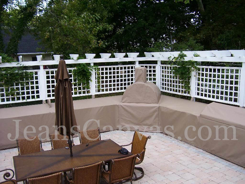 custom outdoor kitchen covers 200
