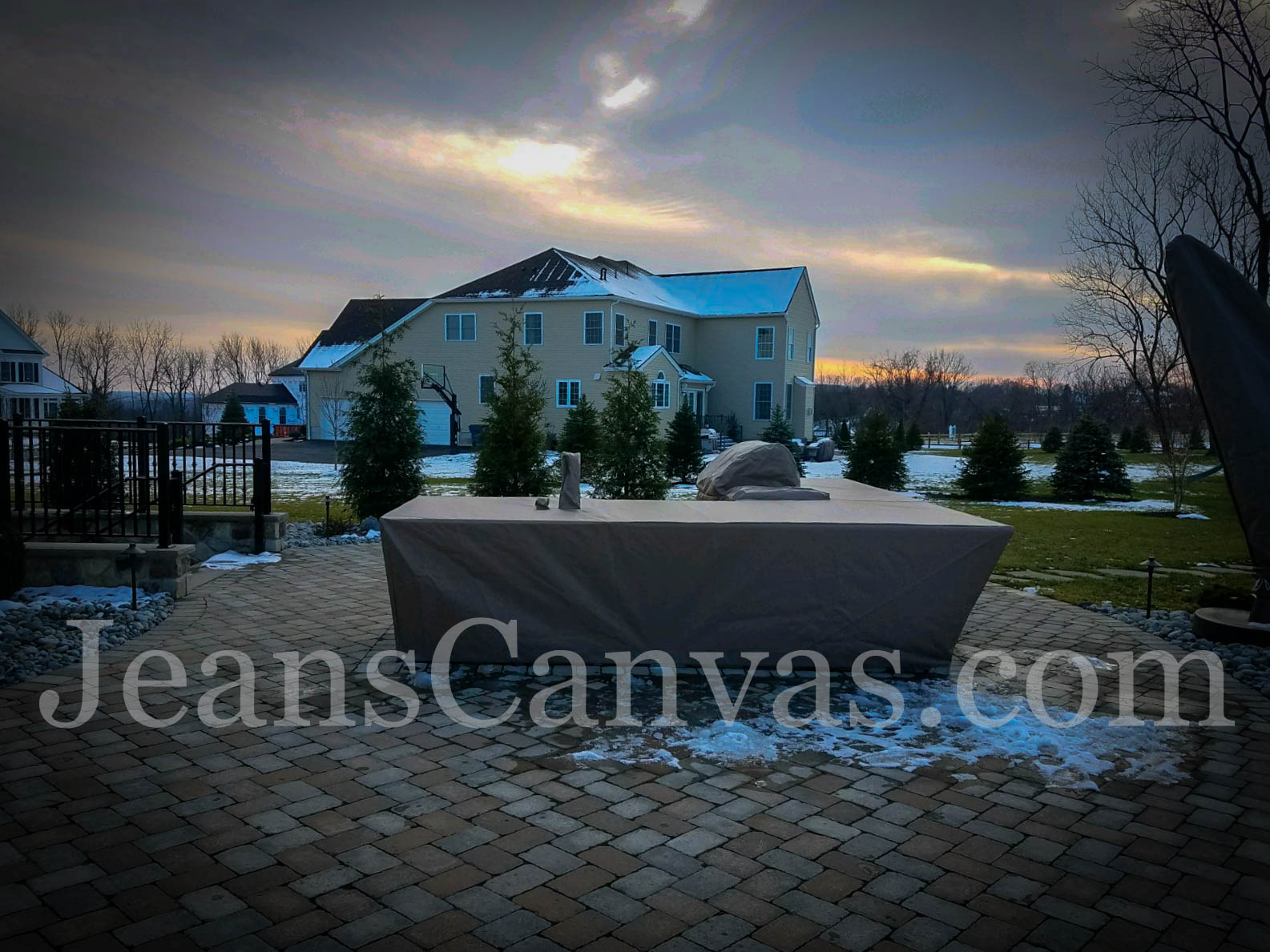 custom outdoor kitchen covers 205