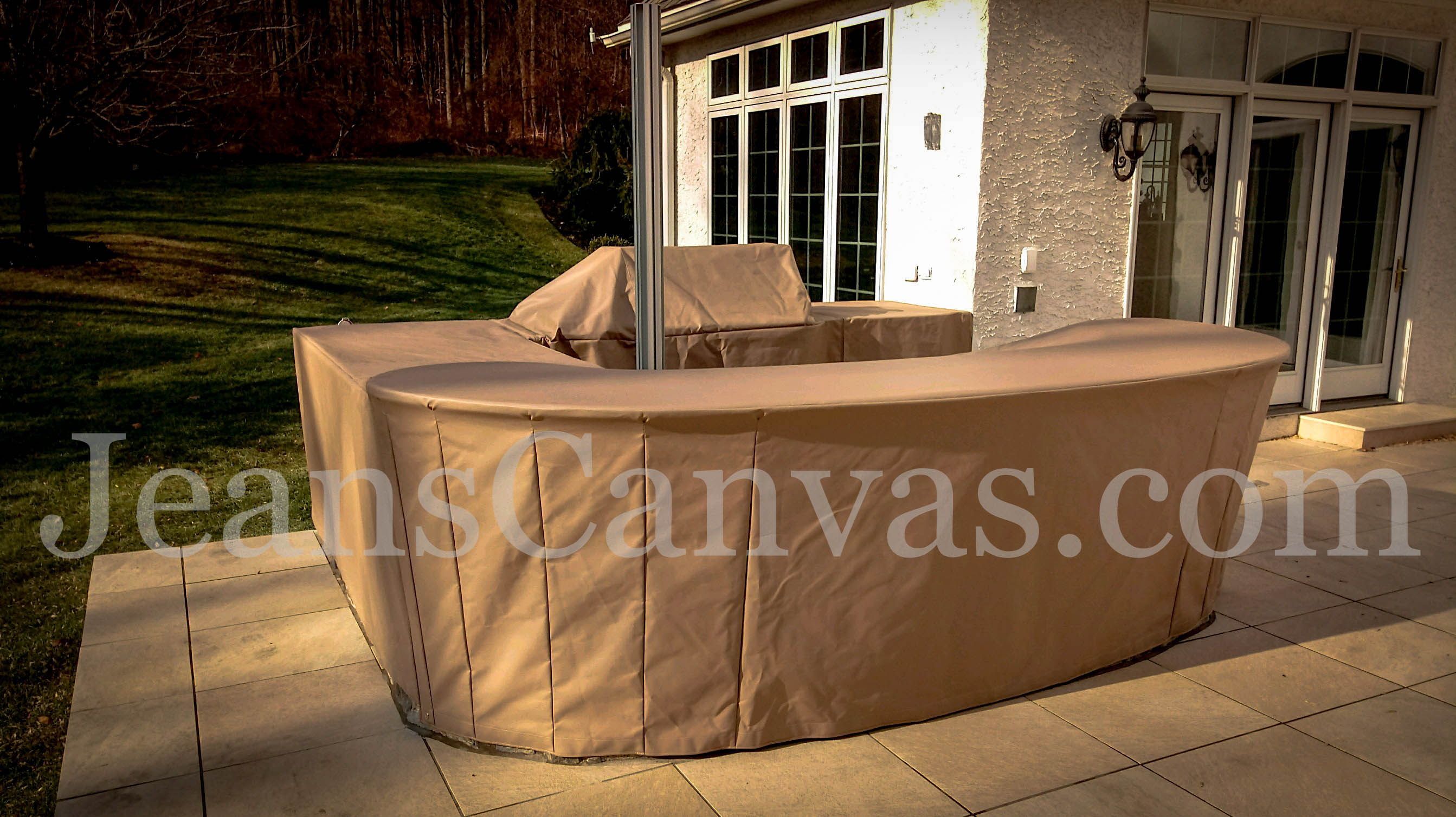 custom outdoor kitchen covers 206
