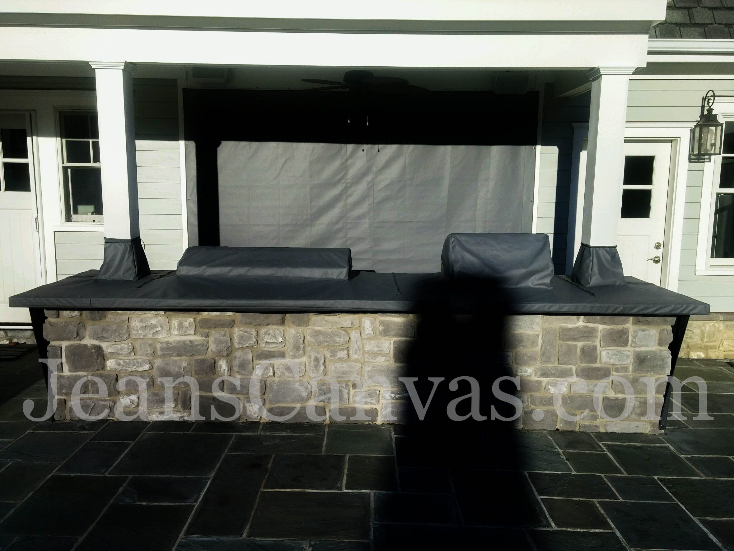 custom outdoor kitchen covers 212