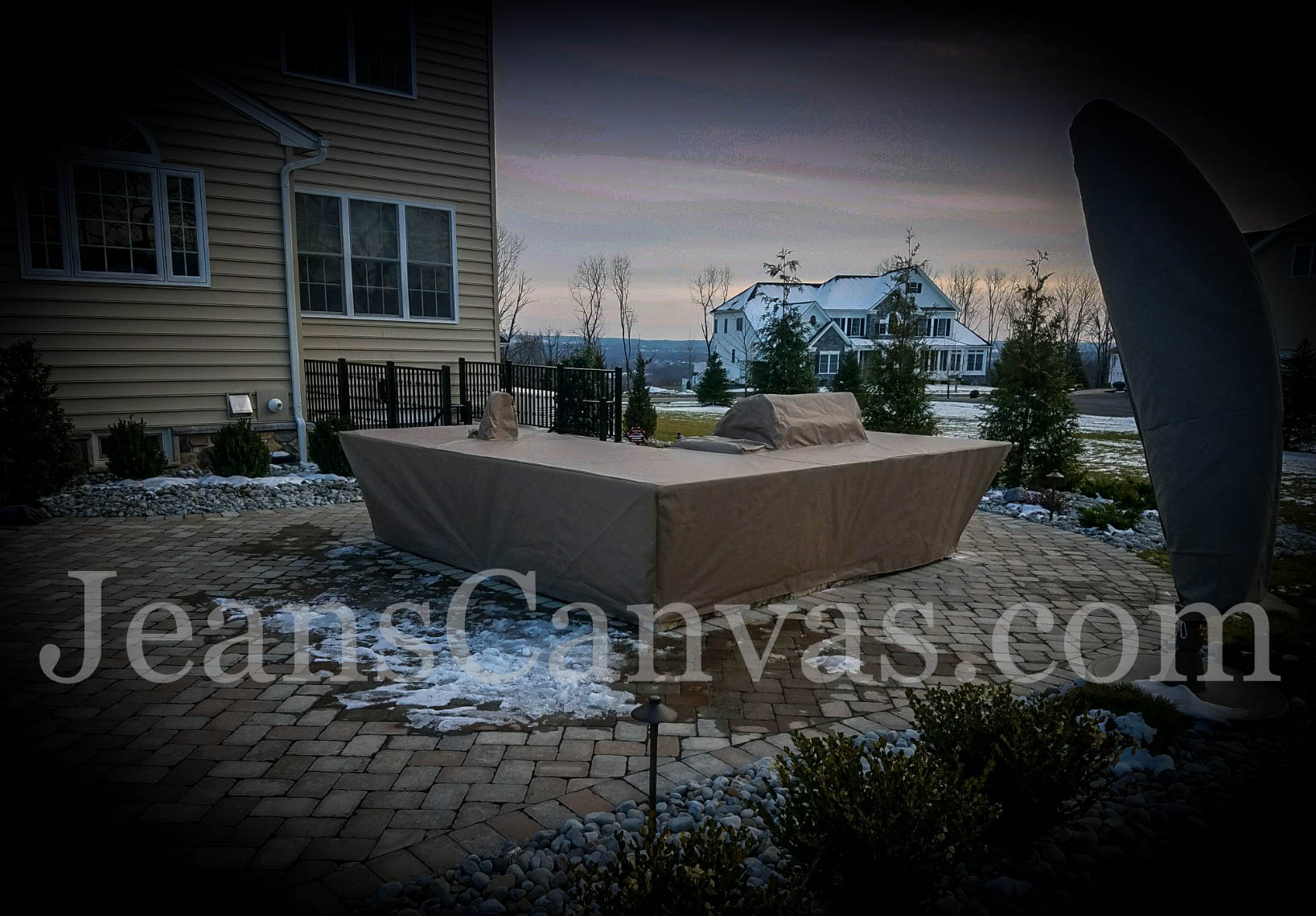 custom outdoor kitchen covers 213
