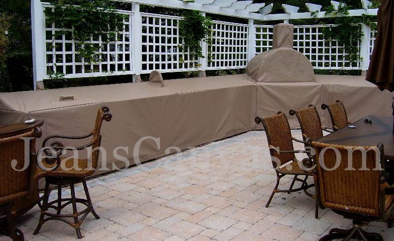 custom outdoor kitchen covers 214