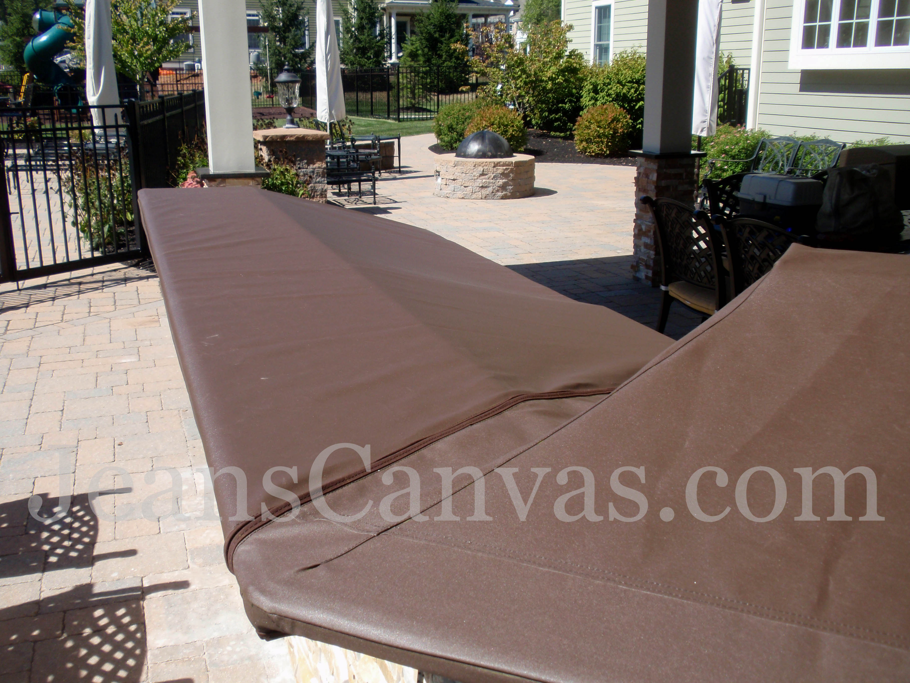 custom outdoor kitchen covers 216