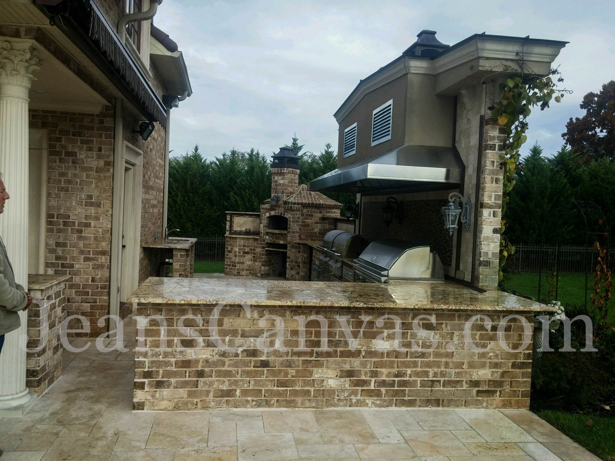 custom outdoor kitchen covers 241
