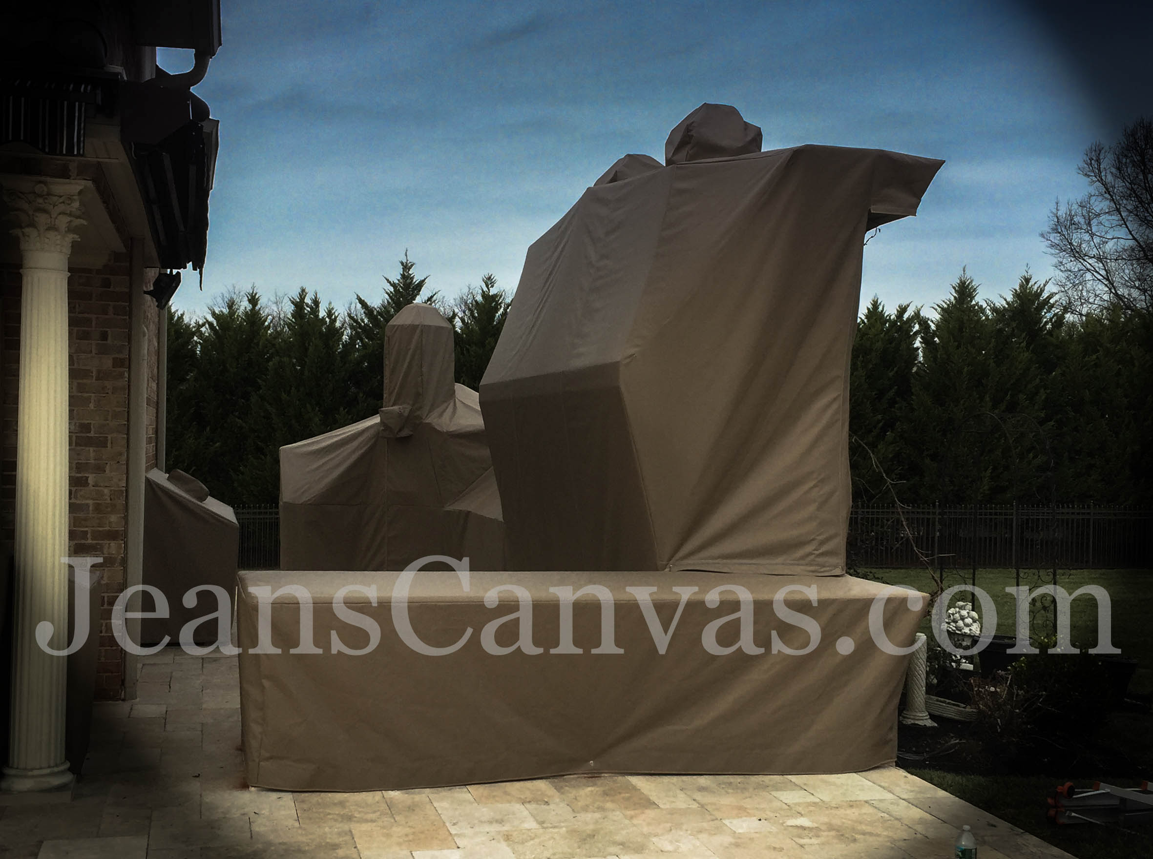 custom outdoor kitchen covers 242