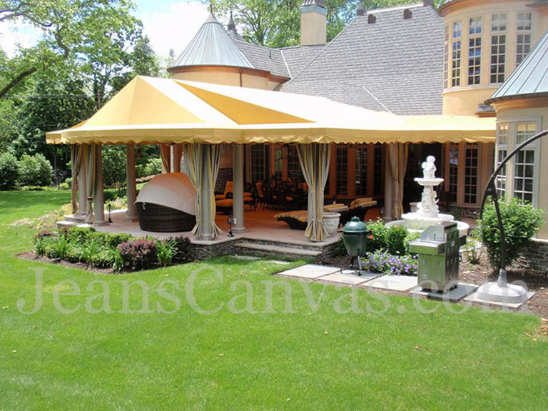 1 canvas vinyal canopy