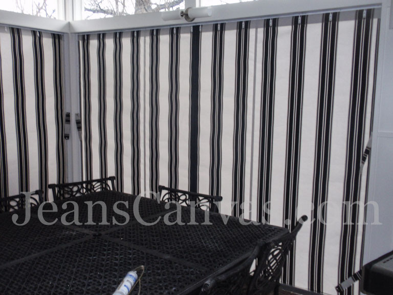 outdoor canvas curtains 33