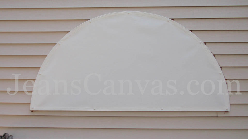 18 outdoor canvas enclosure